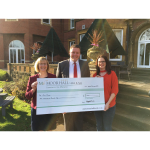 Sutton Coldfield hotel boosts Our Place Community Hub's fundraising with £2,000 donation
