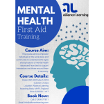 Alliance Learning launch new Mental Health First Aid Course