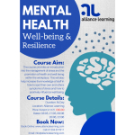 Mental Health Well-Being & Resilience Course available at Alliance Learning