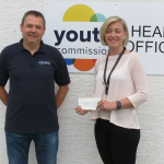 YOUTH COMMISSION RECEIVE DONATION FROM THEBESTOF GUERNSEY