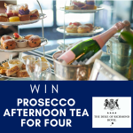 WIN 'PROSECCO AFTERNOON TEA' FOR FOUR AT THE DUKE OF RICHMOND
