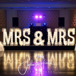 Congratulations to the new Mrs & Mrs Adams!!