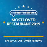Eastbourne Business Award | Most Loved Restaurant 2019