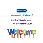 A Big Bestof Welcome to David Thexton of Utility Warehouse