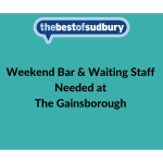 Calling all Bar & Waiting Staff