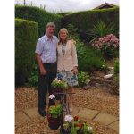 MARILYN URGES PEOPLE TO SUPPORT ST GILES HOSPICE RAFFLE IN MEMORY OF HER BELOVED HUSBAND RICHARD, VICAR IN LICHFIELD