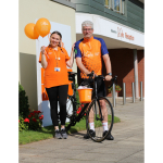 IAN HEADS TO WEMBLEY TO START CYCLE RIDE OF A LIFETIME TO PIRELLI STADIUM