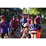 Hundreds of cyclists hit road to support St Giles Hospice
