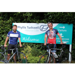 Epic Bike Ride Raises Funds Farnham's Phyllis Tuckwell