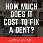 How much does it cost to fix a dent?