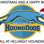 HoundDogs wish you all a Merry Christmas