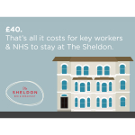 Accommodation for NHS or other frontline workers in Eastbourne