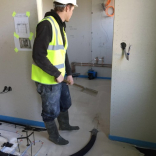 Liquid Floor Screed: A project by EasyFlow