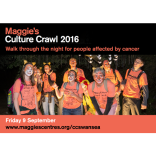 Maggie's Cultural Crawl - raise money, awareness and experience a adventure around our city!