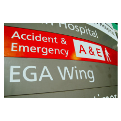 A&E pressure and Minor Injury Unit changes