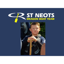 St Neots Dragon Boat Team youngest member