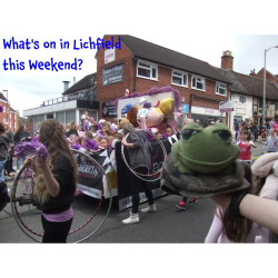 What's on in Lichfield this Weekend 26th - 29th May?