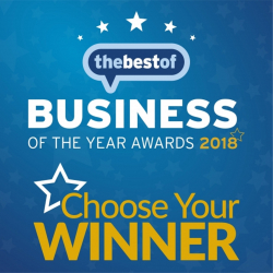 Business of the Year 2018 - voting starts soon!