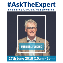 Ask Business East Sussex about business funding at #AskTheExpert