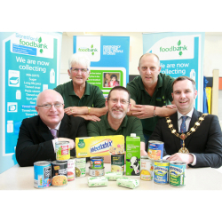 Stretford Mall launches foodbank collections as charity reveals a record 11,628 meals have been handed to families in need so far this year