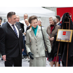 HRH, The Princess Royal, opens Le Mark's International Warehouse