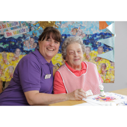 Durham Care Home Crafts Successful Open Day