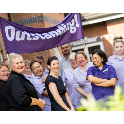Top marks: Macclesfield Care Home Celebrates 'Outstanding' Result Following Inspection