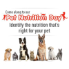 Get advice about your pets nutrition
