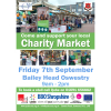 Join us at the Autumn Oswestry Charity Market!