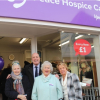 Gill Hollander OBE Re-opens Charity Shop