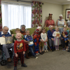 Youngsters and care home residents are on the same page for World Book Day