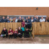 VIP GUEST UNVEILS SCHOOL'S NEW OUTDOOR LEARNING SPACE