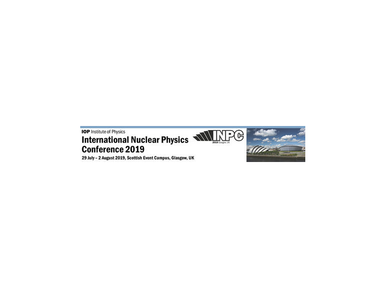International Nuclear Physics Conference, 29 July - 2 August 2019