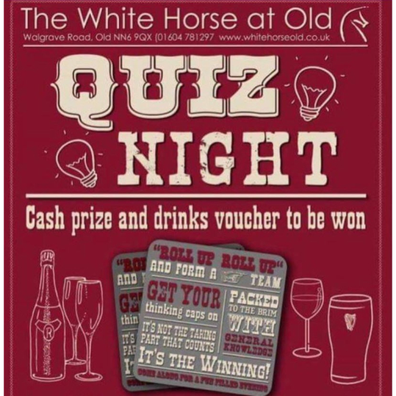 Monthly Quiz at The White Horse