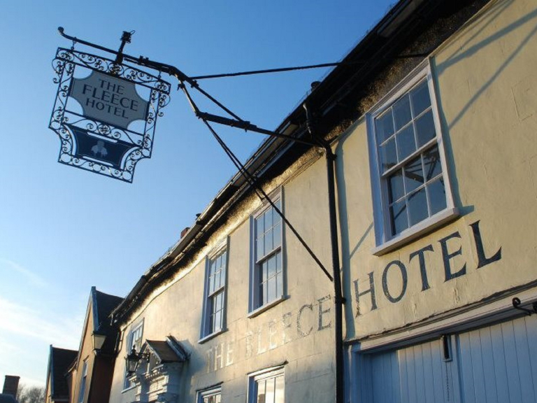 Fish Friday at The Fleece Hotel, Boxford