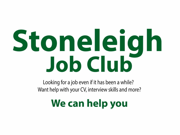 Stoneleigh Job Club – advice and support for job hunters @StoneleighJobC