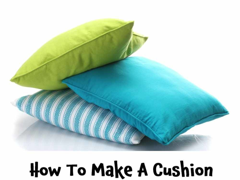 How To Make A Cushion Workshop -- @TheStitchMouse #Epsom