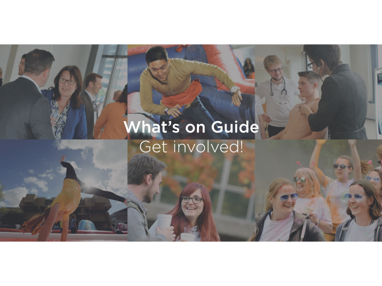 Various events in the Brunel What's on Guide!