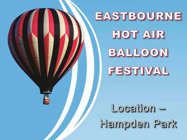 The Eastbourne International Hot Air Balloon Festival