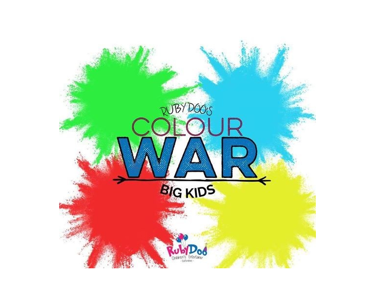 Big Kids Colour War with Ruby Doo