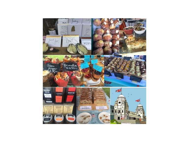 Makers Market in Cheadle Village July 17
