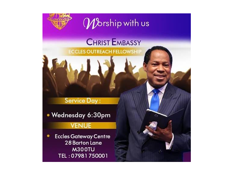 CHRIST EMBASSY ECCLES OUTREACH FELLOWSHIP