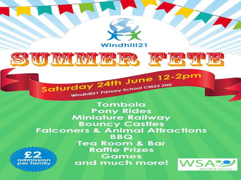 Windhill21 Summer Fete