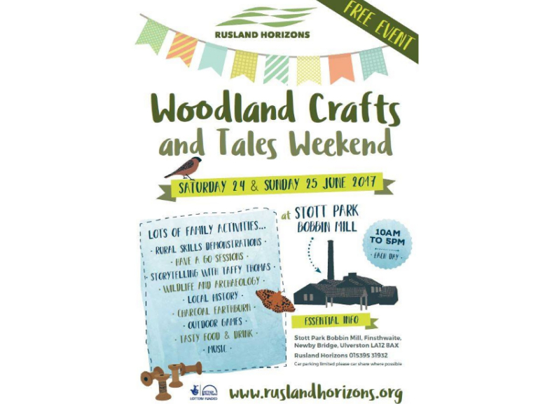 Rusland Horizons: Woodland Crafts and Tales Weekend