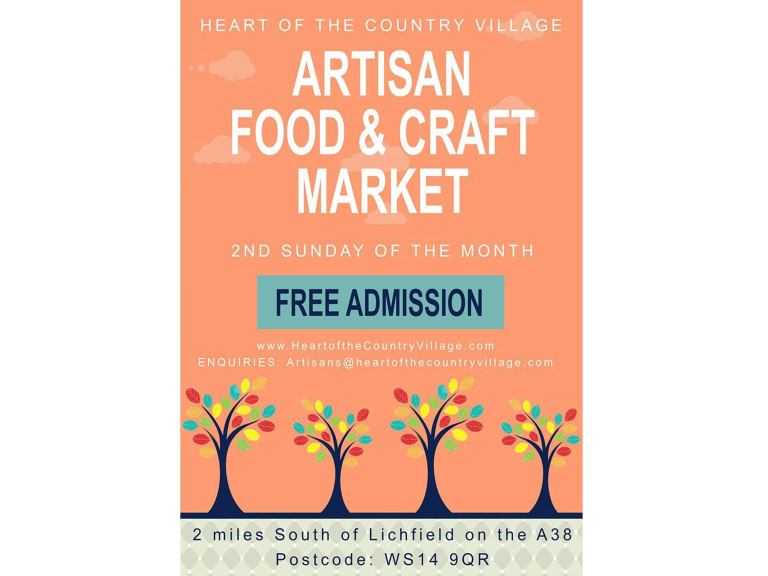 Artisan Food & Craft Market at Heart of the Country Shopping Village