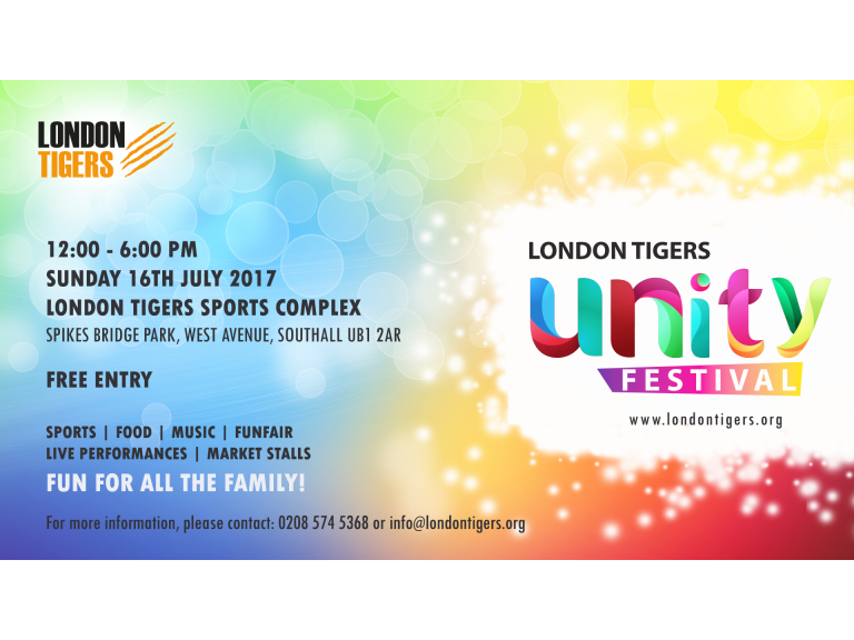 London Tigers Unity Festival