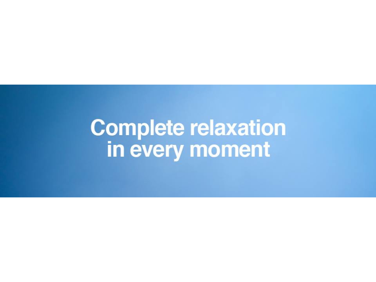 Complete Relaxation in Everyday Life - Introductory Talks - Sunday 25th June