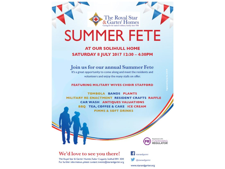 The Royal Star & Garter Homes Summer Fete
