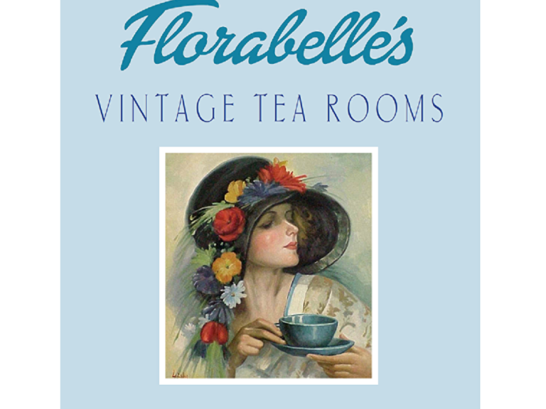 Knitworking at Florabelle's Vintage Tea Room