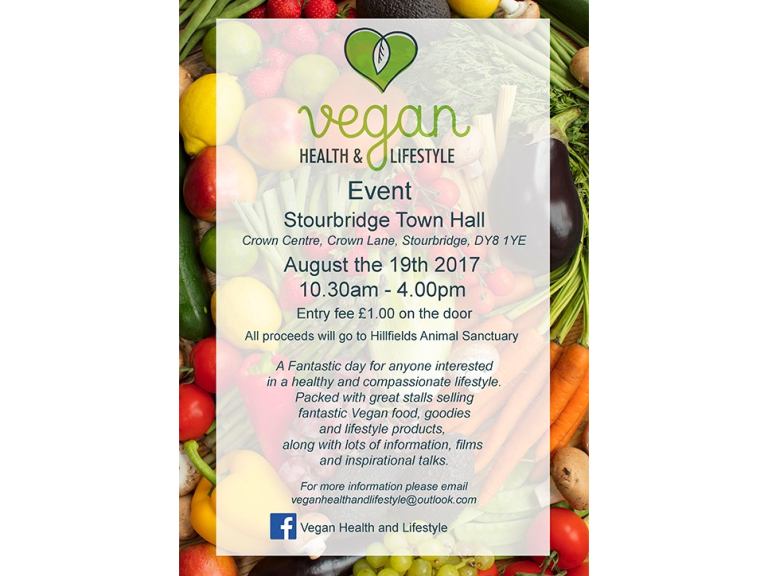 Vegan Health and Lifestyle Event - Stourbridge